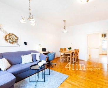 Prodej bytu 3+kk s malou terasou a sklepem, 83 m², Praha - Nové Město
