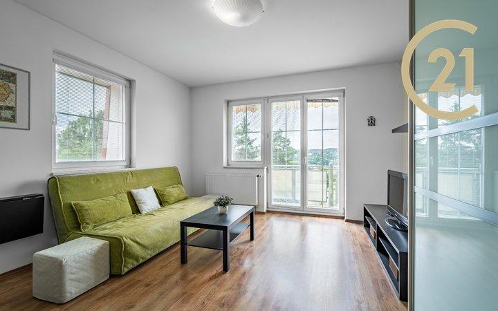 Prodej bytu 1+1+balkón+parkování s nádherným výhledem