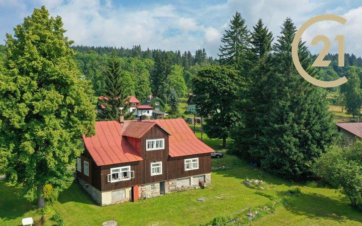 Prodej roubené chalupy 299 m², pozemek  2661m² - Polubný - Kořenov