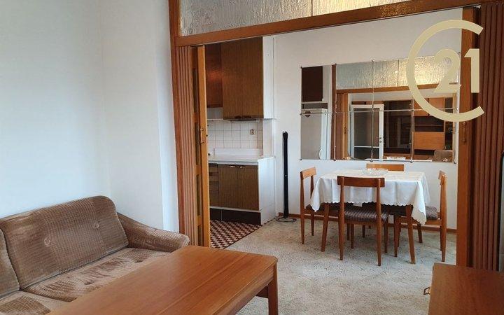 Pronájem bytu 2+1, 51 m², Praha 4 - Podolí