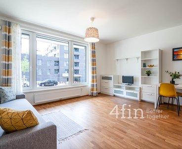 Pronájem bytu 1+kk se sklepem, 32 m², Praha - Hlubočepy