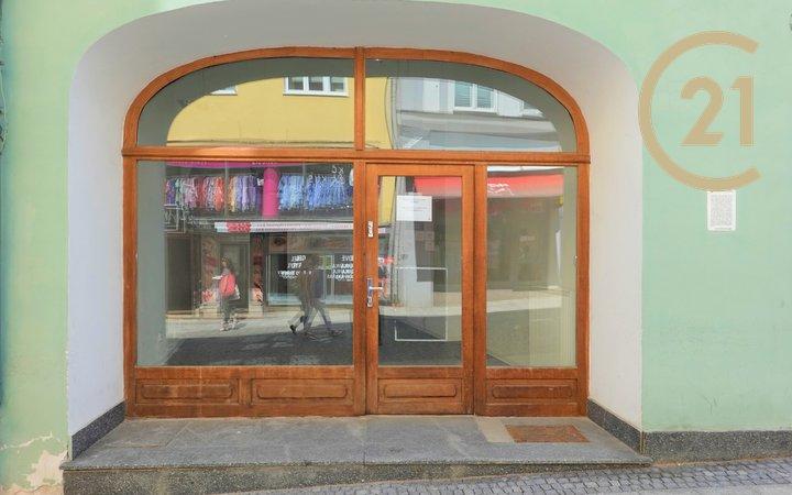 Pronájem, Obchodní prostory, (50m²), Kroměříž, ul.Vodní