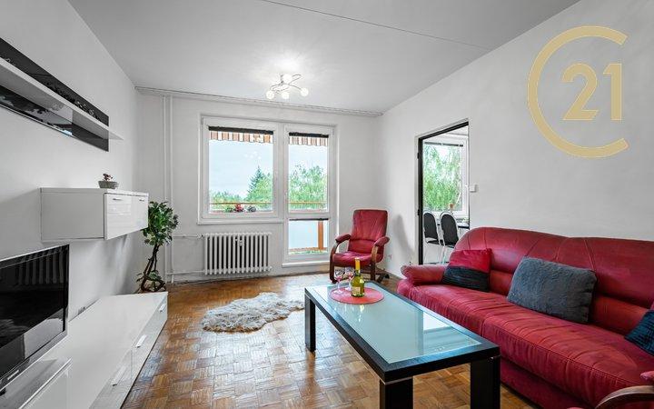 Prodej bytu 3+1 s balkonem o velikosti 71,5 m²