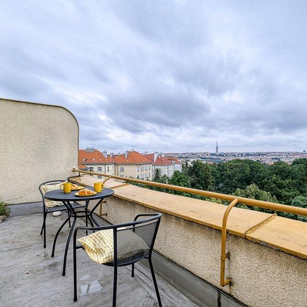 Slunný byt 2+1/2T /S (61,2 m2), Na Jezerce, Praha 4 – Nusle