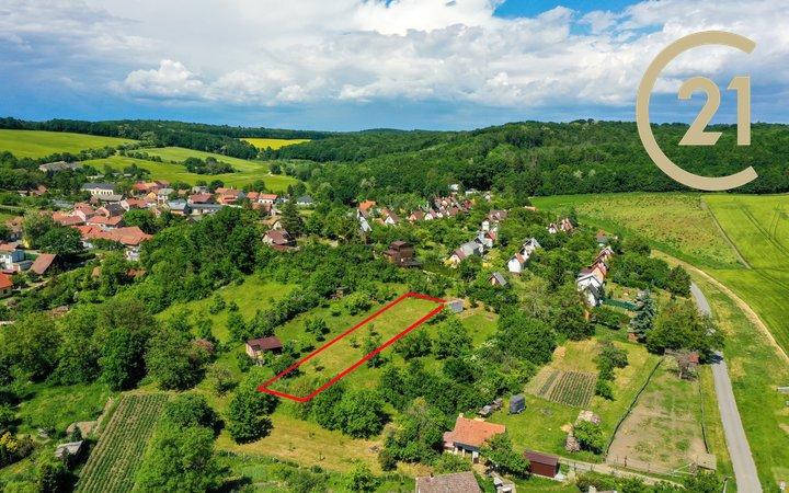 Prodej, Pozemky - zahrady, 837m² - Bohdalice-Pavlovice