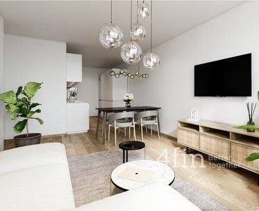Prodej kompletně zrekonstruovaného družstevního bytu 3+kk, lodžie, sklep, 63 m², Praha - Háje