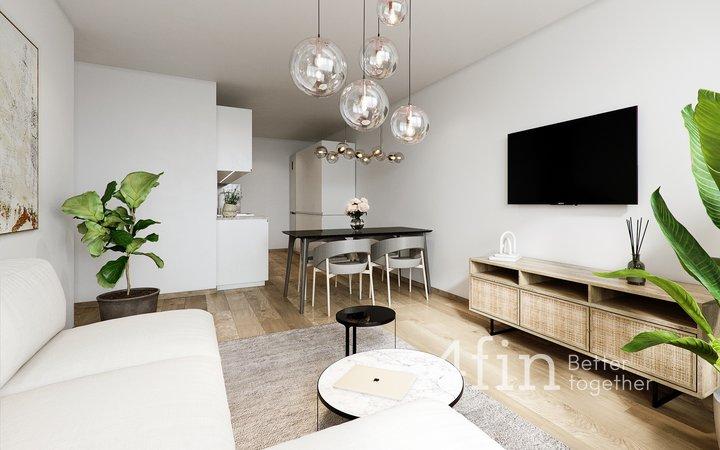 Prodej kompletně zrekonstruovaného bytu 3+kk, lodžie, sklep, 63 m², Praha - Háje