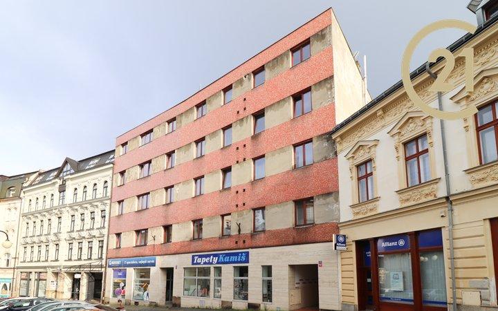 Prostorný 1+kk 35 m² v centru Jablonce nad Nisou