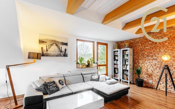 Prodej bytu 3+kk, 106 + 36 + 6 m² - Praha - Košíře