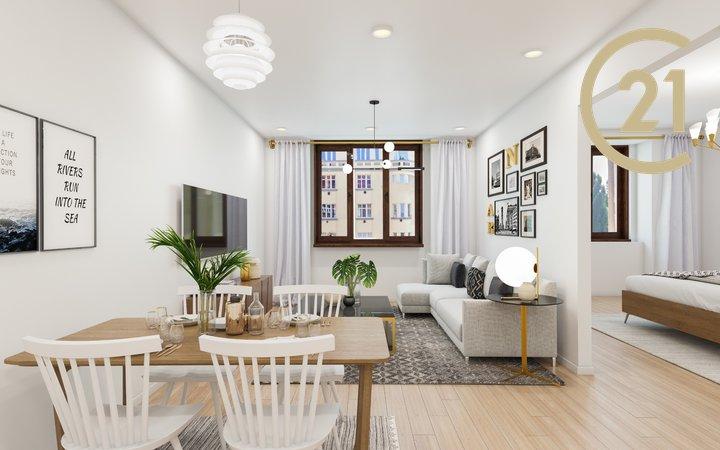 Prodej bytu 2+kk (48,7 m²) Praha 3