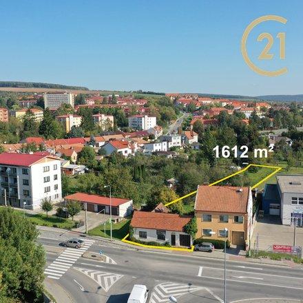 Prodej, velký pozemek 1612 m² - Uherský Brod