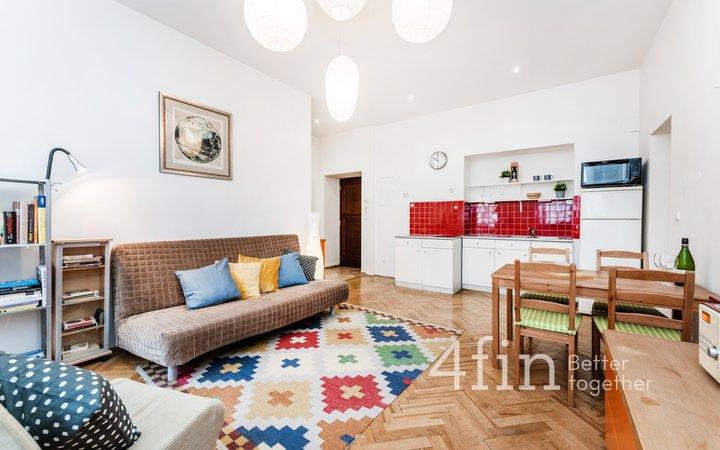 Prodej Bytu 2+kk, 47m² - Praha - Nové Město