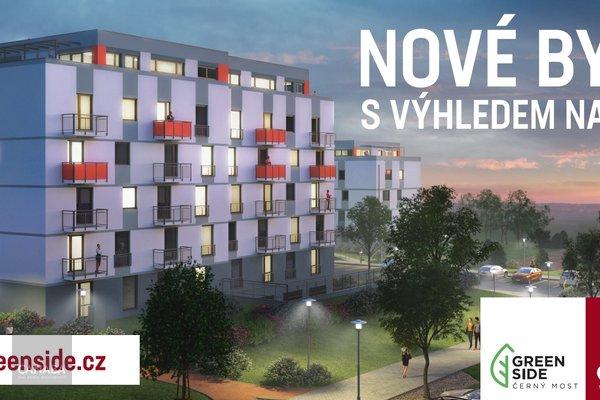 Prodej nového bytu 4+kk/balkon/garáž/sklep, 77 m2, ul. Bryksova, Praha – Černý Most.  7.269.000,-