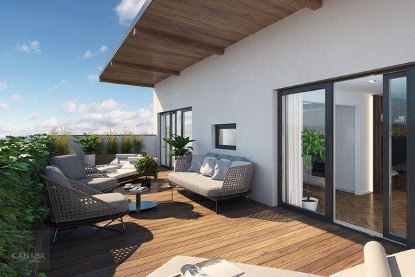 Prodej luxusního bytu 4+kk /terasa/garáž/sklep, 130m2, ul. Bryksova, Praha – Černý Most.  10.799.000,-
