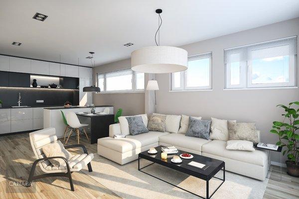 Prodej luxusního bytu 4+kk /terasa/garáž/sklep, 130,5m2, ul. Bryksova, Praha – Černý Most.  12.519.000,-