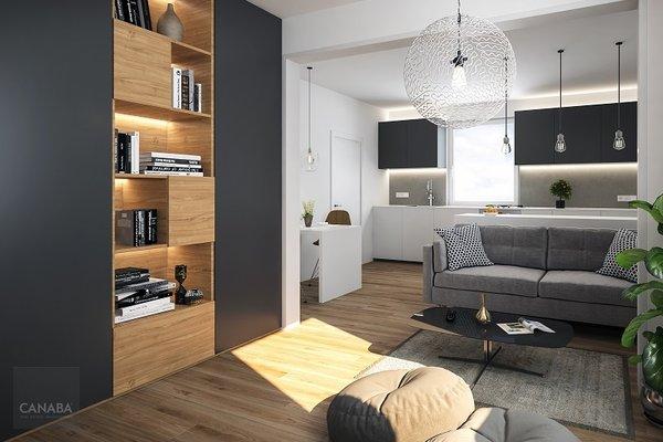 Prodej nového bytu 1+kk/parkovací stání/sklep, 33m2, ul. Bryksova, Praha – Černý Most. 3.469.000,-