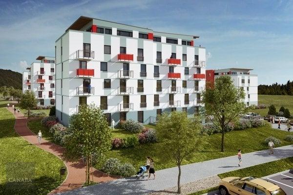 Prodej nového bytu 1+kk/parkovací stání/sklep, 33m2, ul. Bryksova, Praha – Černý Most. 3.319.000,-