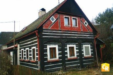 Prodáno: Dům - poloroubený 4+1 (140 m2) + kůlna + zahrada, Ev.č.: 00041