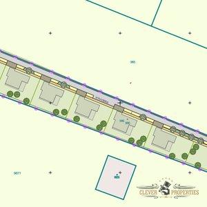 Prodej pozemku pro výstavbu 8x RD , 8.623m² - Hradec Králové - Věkoše