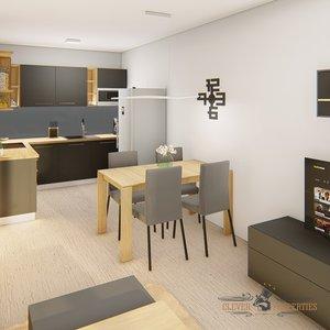 Pronájem, Byty 2+kk, 57 m² - Chrudim