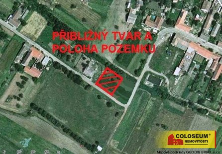 Prodej pozemku v lokalitě Kubšice, okres Znojmo - obrázek č. 1