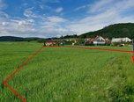 Lomnička, orná půda, 1 066m² - pozemek - Pozemky Brno-venkov