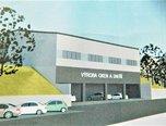 Znojmo, skladovací prostory, 1.659 m2, pozemek s halou - komerce - Komerční Znojmo