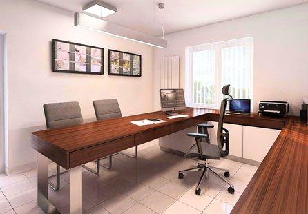 Šlapanice, dům s komerčním prostorem 3+2, možnost rozšíření až na 6+kk, uzavřený dvůr - komerce - Komerční Brno-venkov
