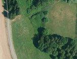Eš -  trvalý travní porost, 600m², jezírko, stromy - pozemek - Pozemky Pelhřimov