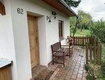 Boskovice, chata 2+KK, krbová kamna, zahradní gril, terasa, zahrada - chata - Domy Blansko