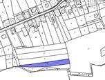 Blansko - Těchov, travní porost 2458 m2, investice - pozemek - Pozemky Blansko