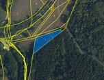 Velenov, trvalý travní porost, 2 329 m², příjezdová cesta – pozemek - Pozemky Blansko