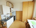 Brno - Bystrc, pronájem bytu 1+1, 40 m2, balkon - pronájem - Byty Brno