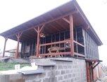 Jaroměřice, novostavba 2+kk, dřevostavba, pozemek 2 390 m2, před dokončením – chalupa - Domy Svitavy
