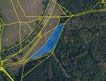 Velenov, trvalý travní porost, 3 586 m², příjezdová cesta – pozemek - Pozemky Blansko