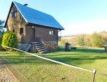 Pucov, chata 3+kk, zahrada, elektřina, výhled na rybník - prodej - Domy Třebíč