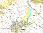Rozsíčka, zemědělská půda 10.708 m2 - travní porost, orná půda - pozemek - Pozemky Blansko