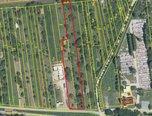 Újezd u Brna, zastavitelné pozemky, 3.574 m2, příjezdová cesta – pozemek - Pozemky Brno-venkov