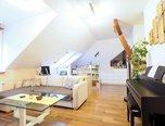 Kuřim, OV 3+kk, 112 m2, po rekonstrukci, půdní vestavba, sklep - byt - Byty Brno-venkov