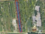 Újezd u Brna, zastavitelný pozemek, 2.221 m2, příjezdová cesta – pozemek - Pozemky Brno-venkov