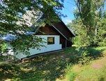 Budišov - celoroční chata 3+1, pozemek 1195 m2, terasa - chata - Domy Třebíč