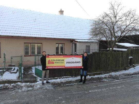Prodaný rodinný domek v Kuřimské Nové Vsi