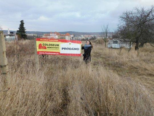 Prodej pozemku na Kraví Hoře