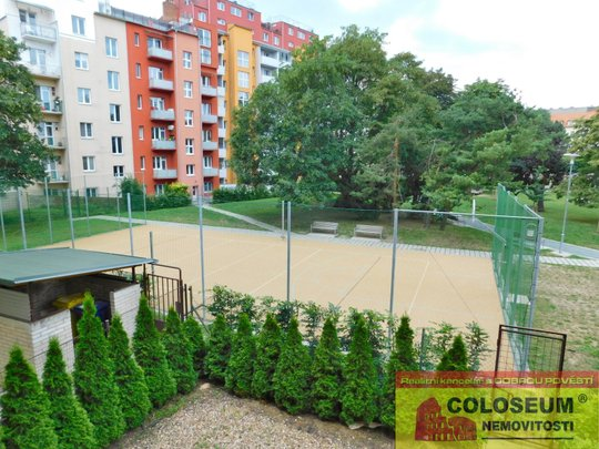Byt 3+kk Staré Brno, vnitroblok jako by jste ani nebyli v centru Brna