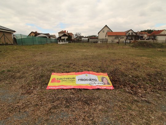 Stavební pozemek v Rudíkově prodaný do 1 týdne