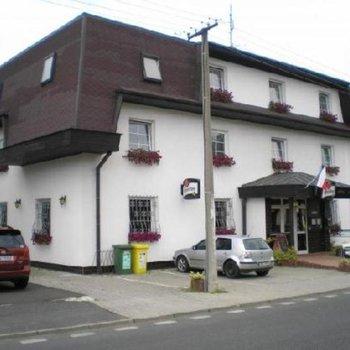 Отель, в курортном городе Марианские Лазни