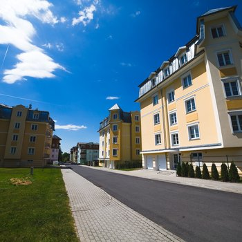 Prodej nadstandardního byty 3+kk na ulici Bezejmenná | Mariánské Lázně