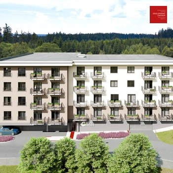 Продажа квартиры 1+кк в новом проекте Green Garden Марианские Лазни   30 м2 + балкон 4 м2