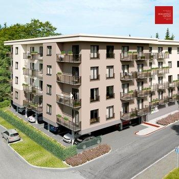 Prodej bytu 2+kk v novém developerském projektu Green Garden Mariánské Lázně   53 m2 + balkon 6 m2