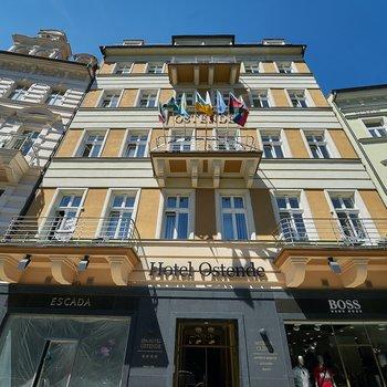 Продажа отеля Ostende**** в центре Карловы Вар